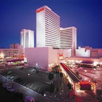 Harrah's Reno Hotel Front - Evening/Night