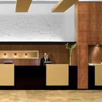 The Dan Carmel Hotel Lobby View