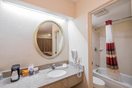 塔拉哈西大學紅屋頂客棧 - 塔拉哈西 - 浴室